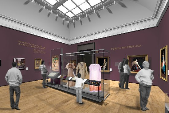 Aberdeen Art Gallery: Artist's impression of one of the gallery's