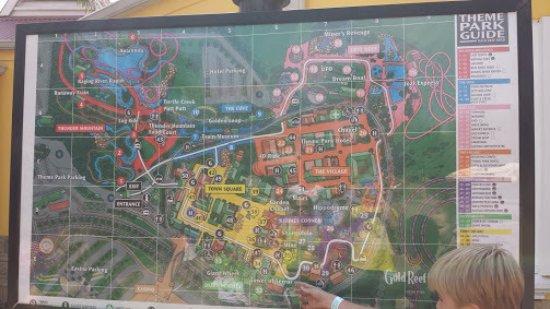 Park map Picture of Gold Reef City Johannesburg TripAdvisor
