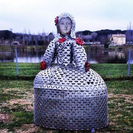 Castell-Platja d'Aro, Španělsko: Esculturas Jaume Riera al aire libre.