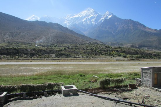 Jomsom, Νεπάλ: view from room