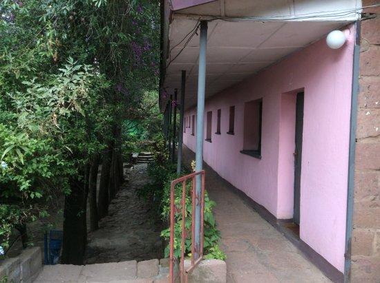 Seven Olives Hotel: Chambres avec une petite vue sur Lalibela