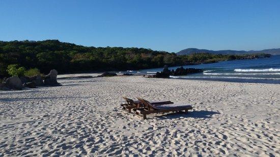 Lichinga, Mozambique: Isolated beach