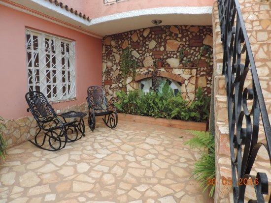 Casa OsmaryAlberto One of the Floors & Under the Vine canopy - Picture of Casa OsmaryAlberto Trinidad ...
