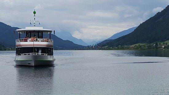 Schifffahrt am Weissensee