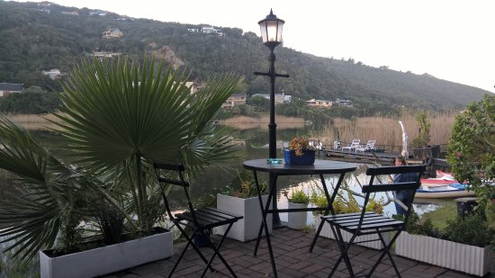 Wilderness, Afrique du Sud : View from the Boathouse