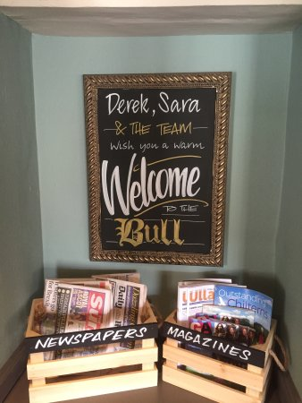 Bull Inn at Streatley: Always a warm welcome from the new management team
