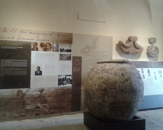 Populonia, Italie : Museo 1