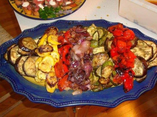 Laura & Tony's Kitchen: Grilled vegetables!