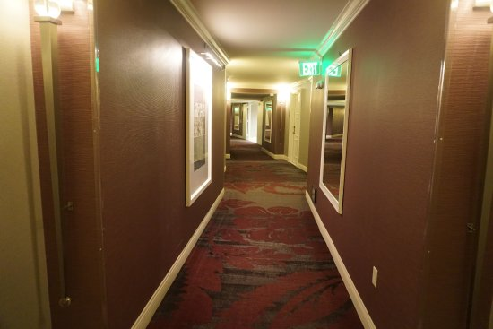 Crowne Plaza Los Angeles - Commerce Casino: Clean corridor