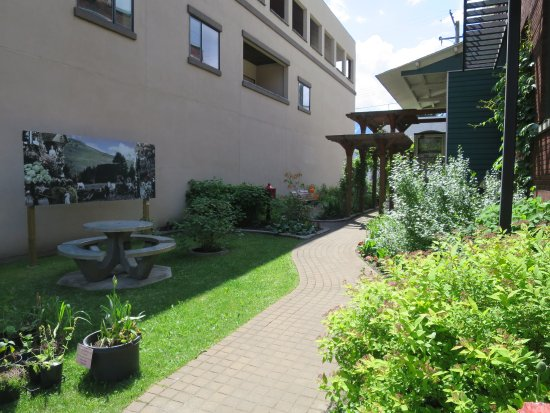 Revelstoke Museum: Heritage Garden—a pleasant place to relax on a summer's day