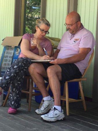 Laura & Tony's Kitchen: Laura & Tony, plotting and planning