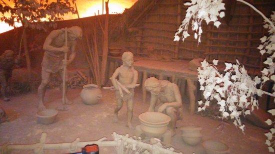 Yuyao, Kina: Древние люди