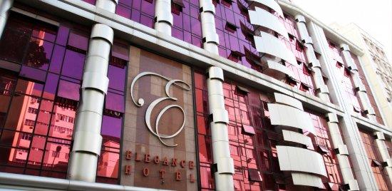 Elegance Praia Hotel: Façade
