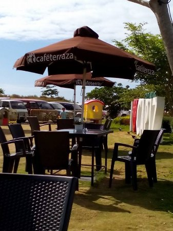 Umbrella Hut Picture Of Cafe Terraza Roxas City Tripadvisor