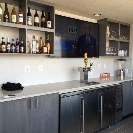 Enjoy a cold beverage at our new Ellipse Rooftop Bar