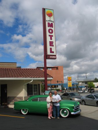 "Flamingo Motel: Bower's ""Lead Sled Dodge"" 2016 Winner"