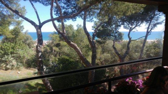 Gran Hotel Rey Don Jaime : Vistas desde la terraza del comedor