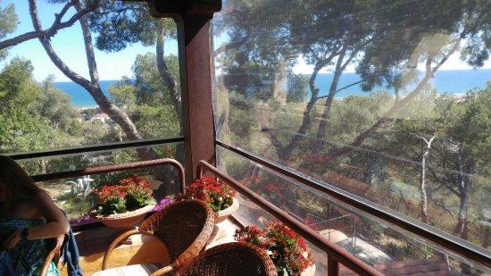 Gran Hotel Rey Don Jaime: Vistas desde la terraza del comedor