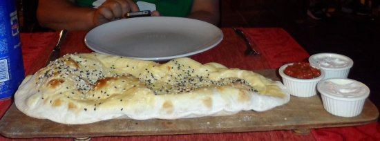 40022c3bcc Turkish Bread   Dips Served Pre-Meal - Picture of September ...