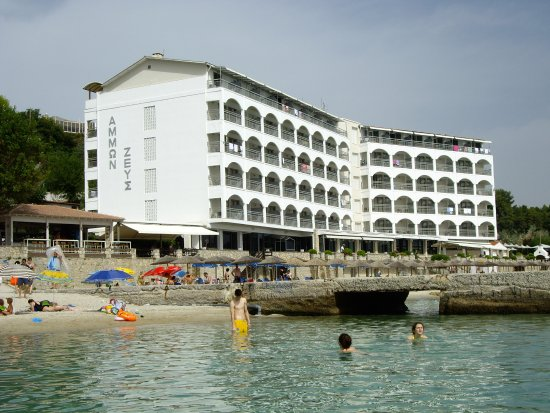 Ammon Zeus Hotel: The view from the sea 1