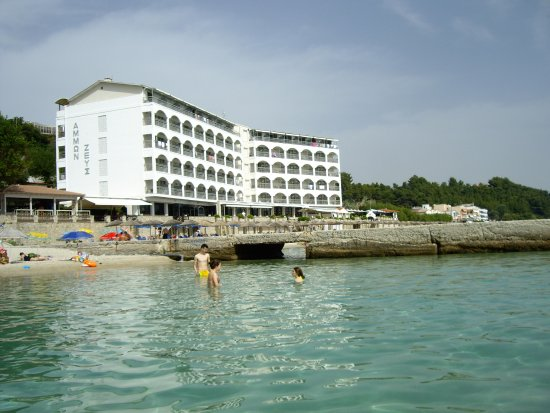 Ammon Zeus Hotel: The view from the sea 2