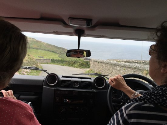 Cornish Heritage Safaris -  Tours: Susan is an excellent driver!