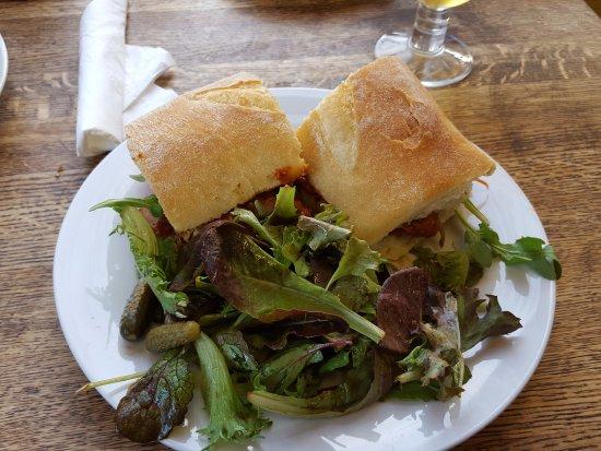Water Street Bistro: Spicy Pulled Pork Sandwich