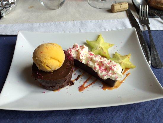 Rions, Frankrijk: dessert