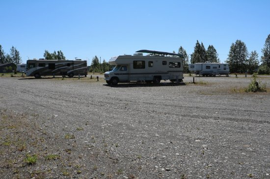 BEST WESTERN King Salmon Motel: RV Park is a parking lot basically