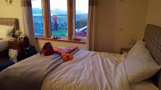 Struan, UK: Vista desde nuestra habitacion
