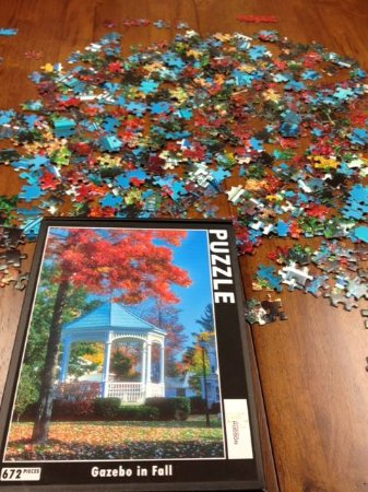 Hudson, OH: Six different puzzles available