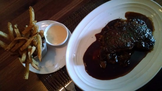 Worthington, OH: Steak and fries