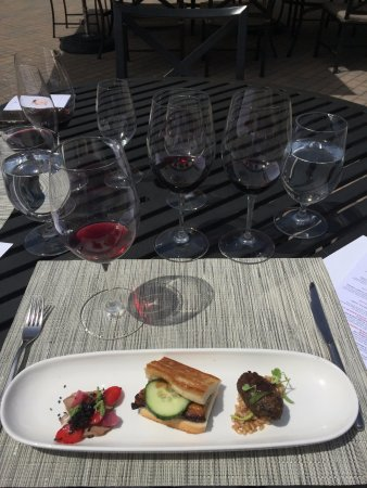 Wine Cube Tours: Wine and food pairing at Kendall Jackson...excellent!