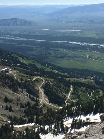 Jackson Hole Aerial Tram: One of the views from the top