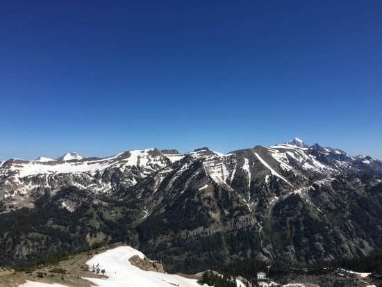 Jackson Hole Aerial Tram: More views