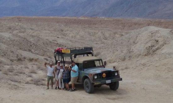 California Overland Desert Excursions: Badlands