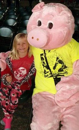 Loganville, Geórgia: We love pigs : )