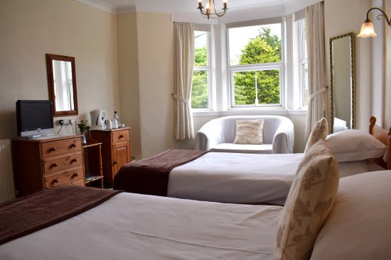 Veryan, UK: Twin bedroom