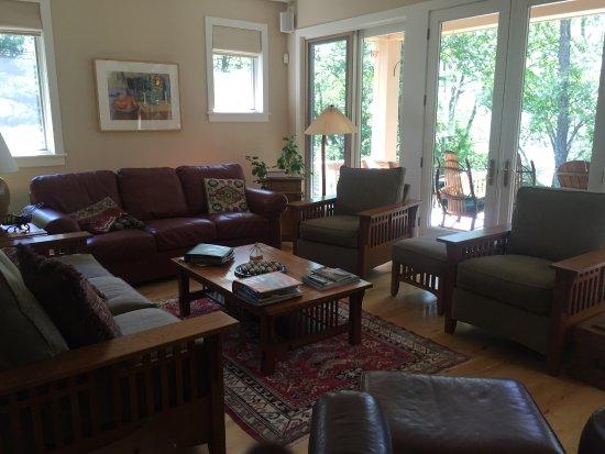 Shawnee on Delaware, Pensilvanya: Living room.