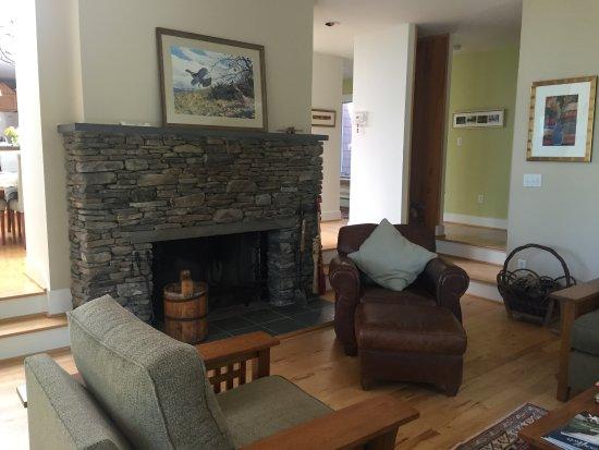 Shawnee on Delaware, Pensilvanya: Fireplace.