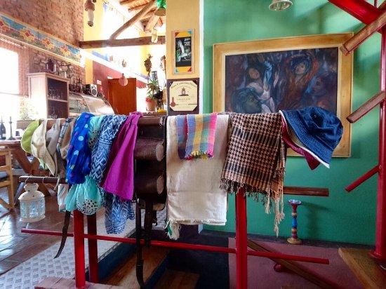 Mazagao: Quirky decor