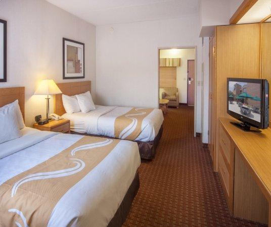 Quality Suites Hotel: Double Suite