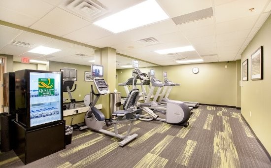 Quality Suites Hotel: State of the Art Fitness Center