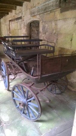Chillingham Castle: carriage