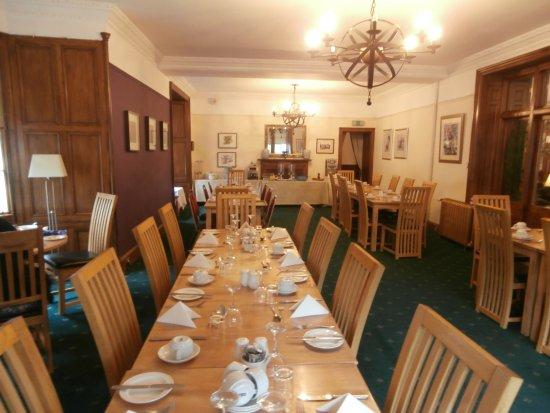 Birnam, UK: Hotel dining room, breakfast