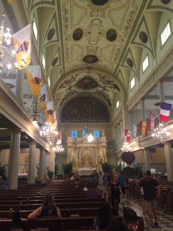 Katedra św. Ludwika: Fotos de la catedral de New Orleans