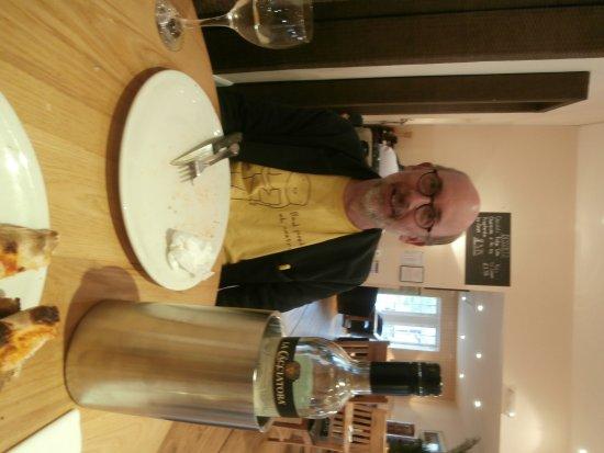 Birnam, UK: Empty plate after ecellent meal