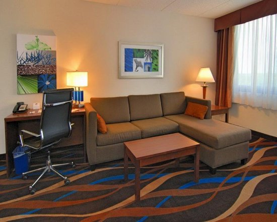 Fort Lauderdale Airport / Cruise Port Inn : Suite