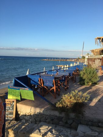 Avgoustis : A beautiful evening for a Seabass dinner
