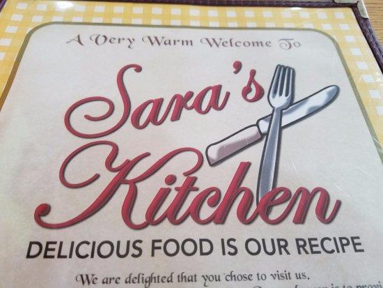 Menu Picture Of Sara S Kitchen Palm Beach Gardens